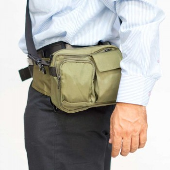 Waist Pouch with belt and Sling