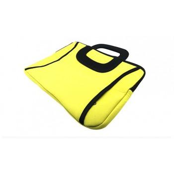Yellow Neoprene Bag