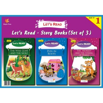 Let's Read- Story Books Set 1(Set of 3 Books)