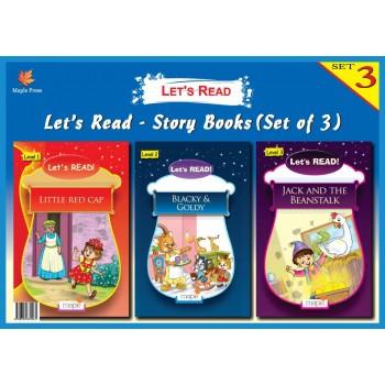 Let's Read- Story Books Set 3 (Set of 3 Books)