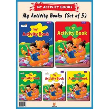My Activity Book 1-5 (set of 5 books)