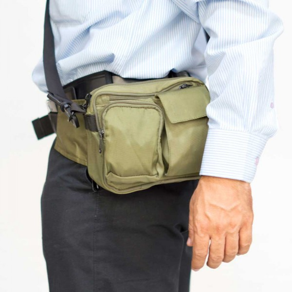 Waist Pouch with belt and Sling - Olivetrolley a8f5169977ec