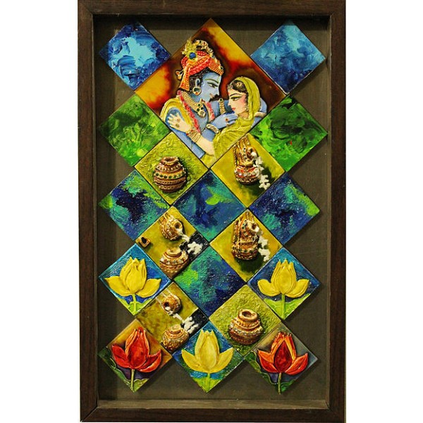 Radha Krishna Art Paintings