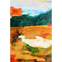 Abstract Scenery (Art -  Oil Painting)