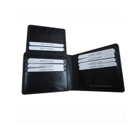 The Boardroom black leather Wallet