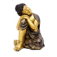 Golden Buddhist Monk
