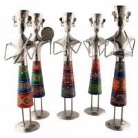 Set of 5 Standing Musicians