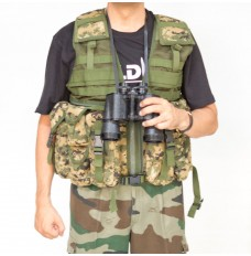 Ammunition Pouches Sleeveless Jacket (Net Finish)