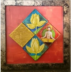 Tiled Collage  -  Lotus