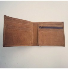 Real goat Leather Wallet