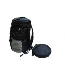 Collapsible back pack cum travel bag