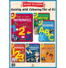 Ready to Learn & Activity Books(Set of 6)