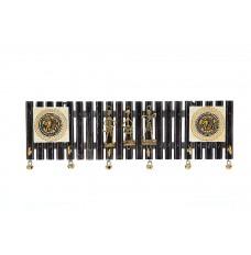 Indikala Warli Key Ring Holder ( 6 Pegs)