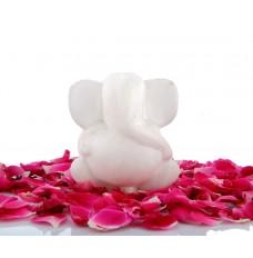 Indikala White marble Ganesha