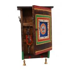 Indikala Ethnic Box Key Ring Holder