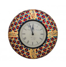 Indikala Clock (12 Inches ) with Meenakari Work