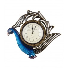 Indikala Peacock Clock