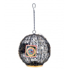 Indikala Ball Shaped Hanging Tea Light Holder With Worli Work!!