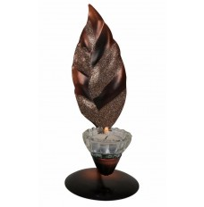 Indikala Wrought Iron Single Leaf Candle Stand