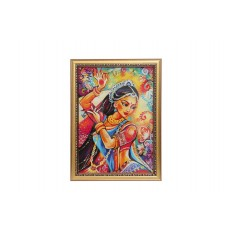 Elegant Lady Dancer Wall Painting  16 Inch X 12 Inch