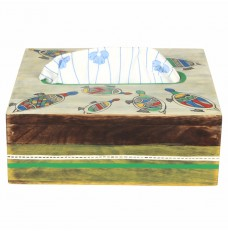 Wooden Turtle Handcrafted Napkin Holder
