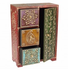 12 Inch Tall Handcrafted Storage Almirah