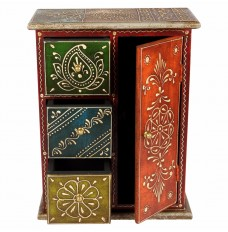 12 Inch Tall Multicoloured Storage Almirah