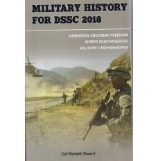 Military History for DSSC/TSOC 2017