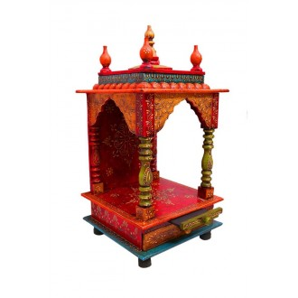 Dismantle able Handpainted Mandir